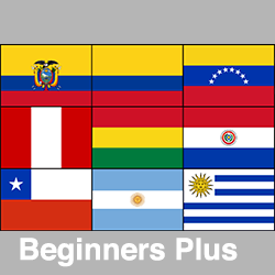Latin American Spanish Beginners Plus (Talk More)